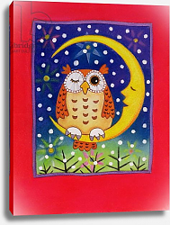 Постер Бакстер Кэти (совр) The Winking Owl, 1997