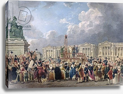 Постер Демаки Пьер An Execution, Place de la Revolution, between August 1793 and June 1794