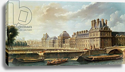 Постер Рагуне Николя The Palace and Garden of the Tuileries, 1757