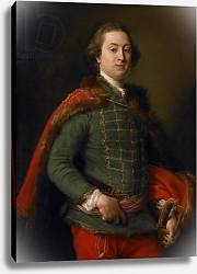 Постер Батони Помпео Portrait of John Woodyeare, 1750