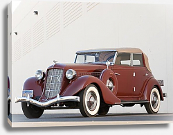 Постер Auburn 851 Salon Phaeton Sedan '1935
