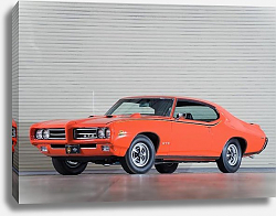 Постер Pontiac GTO ''The Judge'' Coupe Hardtop '1969