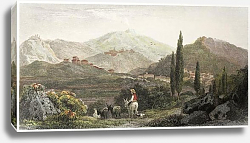 Постер Francavilla , Sicily. Created by De Wint and Wallis, printed by McQueen, London, 1823