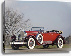 Постер Packard Deluxe Eight Dual Cowl Phaeton (645) '1929