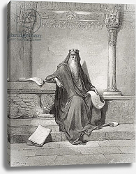 Постер Доре Гюстав Solomon, illustration from Dore's 'The Holy Bible', 1866