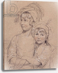 Постер Доунмен Джон No.1857 The Misses Rigby, the two daughters of Mr Rigby of Norwich a celebrated surgeon, 1778