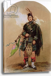 Постер Лами Евген A Piper of the 79th Highlanders at Chobham Camp in 1853