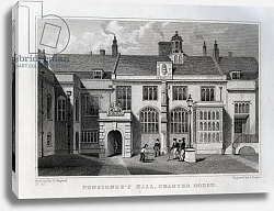 Постер Шепард Томас (последователи) Pensioner's Hall, Charter House, engraved by John Rogers, 1830