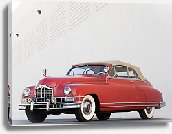 Постер Packard Custom Eight Convertible Coupe '1948