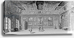 Постер Клейнер Саломон (грав) Picture Gallery at Belvedere, Vienn, c.1731-1740
