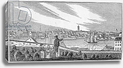 Постер Барбер Джон South view of Charlestown, engraved by S. E. Brown, 1839