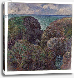 Постер Моне Клод (Claude Monet) Group of Rocks at Port-Goulphar, 1887