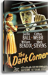 Постер Film Noir Poster - Dark Corner, The