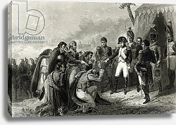 Постер Верне Антуан The Defeated Spanish prostrate before Napoleon before his entry into Madrid, December 1808