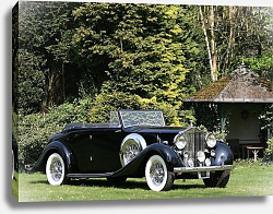 Постер Rolls-Royce Phantom Cabriolet by Mazzara & Meyer (III) '1938
