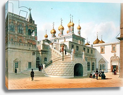 Постер Беност Феликс View of the Boyar Palace in the Moscow Kremlin, printed by Lemercier, Paris, 1840s