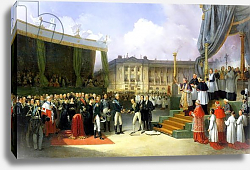 Постер Бьюм Жозеф Inauguration of a Monument in Memory of Louis XVI by Charles X at the Place de la Concorde, 1827