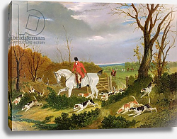 Постер Херринг Джон The Suffolk Hunt - Going to Cover near Herringswell