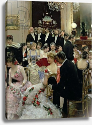 Постер Бакст Леон The Soiree, c.1880 2