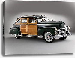 Постер Cadillac Fleetwood Seventy-Five Sedan by Bohman & Schwartz '1949