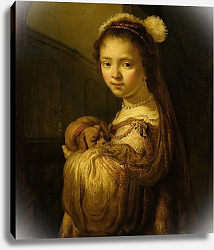 Постер Флинк Говерт Picture of a Young Girl