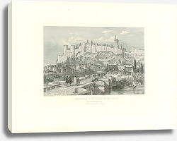 Постер Castle of Chinon Indre-et-Loire