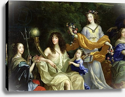 Постер Нокре Жан The Family of Louis XIV 1670 2