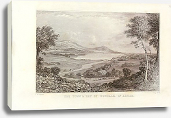 Постер TOWN AND BAY OF DUNDALK,Louth County,Views of Ireland