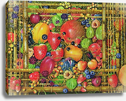 Постер Уоттс Э. (совр) Fruit in Bamboo Box, 1999