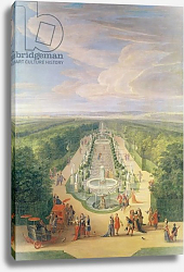 Постер Мартин Жан-Батист Perspective View of the Grove from the Galerie des Antiques at Versailles, 1688
