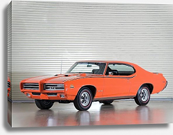 Постер Pontiac GTO ''The Judge'' Coupe Hardtop '1969 1