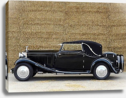 Постер Rolls-Royce 20 25 Drophead Coupe '1932