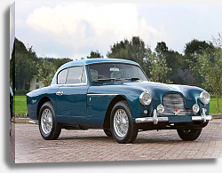Постер Aston Martin DB2 4 Fixed Head Coupe ''Notchback'' (MkII) '1955–56