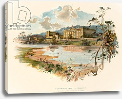 Постер Уилкинсон Чарльз Chatsworth from the Derwent
