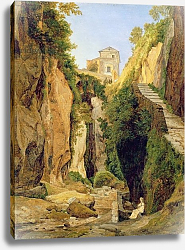 Постер Рейнхолд Хайнрих Ravine at Sorrento, 1823