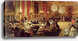 Постер Лами Евген Concert in the Galerie des Guise at Chateau d'Eu, 4th September 1843, 1844