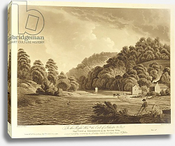 Постер Дейес Эдвард (грав) View at Redbrook in the River Wye, plate 13 from 'Views of the River Wye', 1802