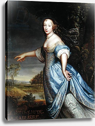 Постер Мигнар Пьер Portrait of Madame de la Sabliere