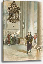 Постер Планелла Коромина Хосе Galileo in the cathedral in Pisa