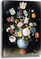 Постер Боссшорт Амброзиус Bouquet of Flowers, 1609