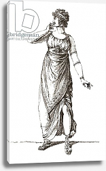 Постер Madame Tallien in Grecian costume, published 1909.