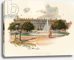 Постер Уилкинсон Чарльз Hampton court, east front