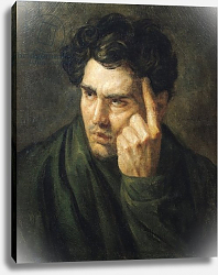 Постер Жерико Теодор Portrait of Lord Byron 2