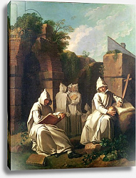 Постер Джюра Этьен Carthusian Monks in Meditation