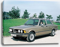 Постер BMW 320 Coupe (E21) '1975–77