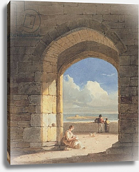 Постер Варлей Джон An Arch at Holy Island, Northumberland, 1809
