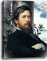 Постер Боклин Арнольд Self Portrait, 1873