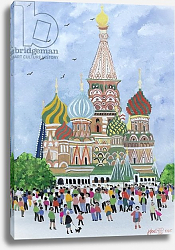 Постер Джоел Джуди St. Basil's Cathedral, Red Square, 1995