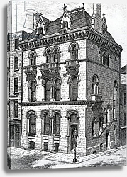 Постер Школа: Ирландская 19в. Crown Life Office, Dublin, published in 'The Architect ix', 1873
