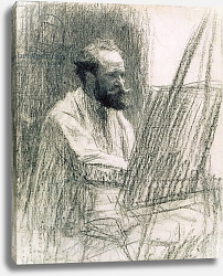 Постер Лермит Леон Portrait of Edouard Manet at his Easel